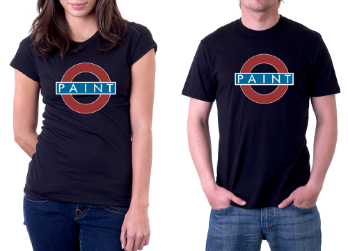 Paint T-Shirts -- Brand New!